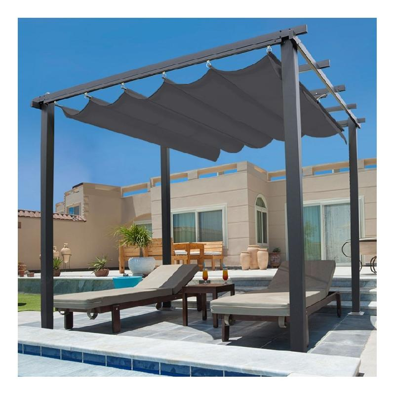 pergola idmarket achat vente de pergola idmarket comparez les prix sur. Black Bedroom Furniture Sets. Home Design Ideas