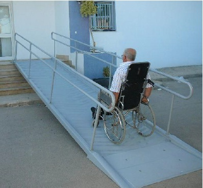 rampe acces handicape 6 m. Black Bedroom Furniture Sets. Home Design Ideas