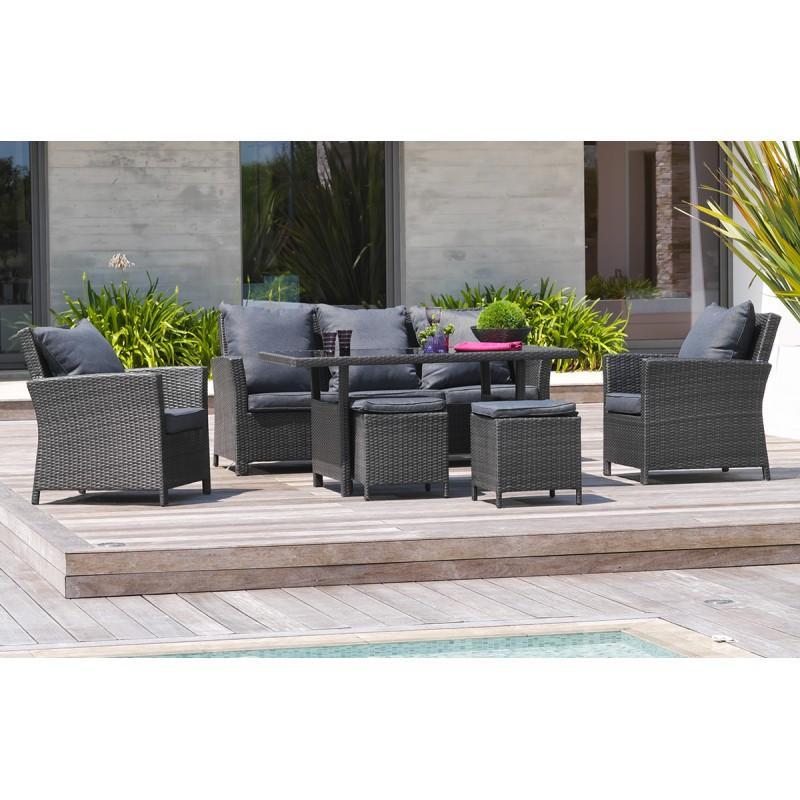 salon de jardin dcb garden achat vente de salon de jardin dcb garden comparez les prix sur. Black Bedroom Furniture Sets. Home Design Ideas