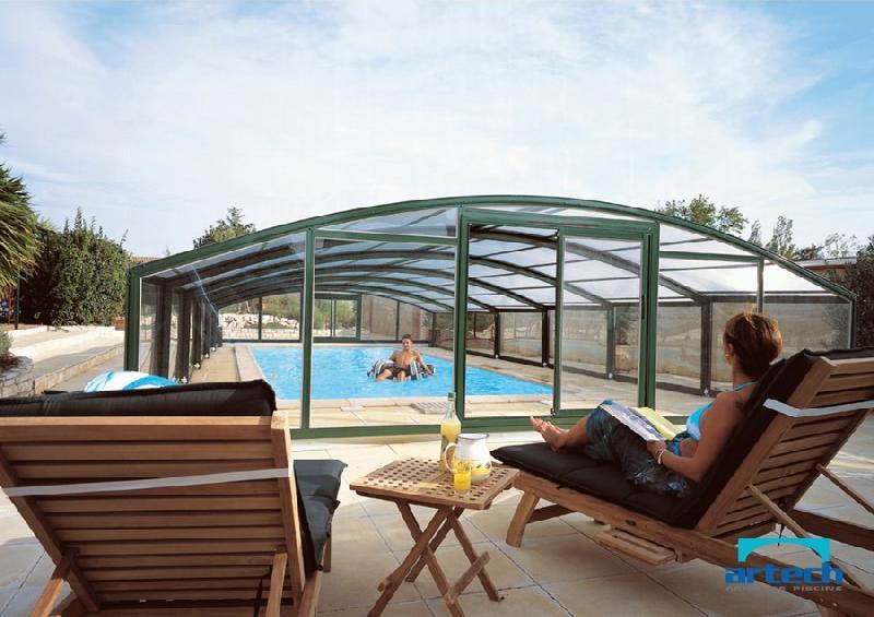 abris artech produits abris de piscines. Black Bedroom Furniture Sets. Home Design Ideas