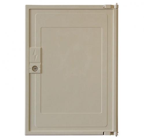 Porte de coffret electrique beige - minimixt s20