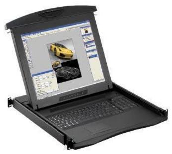 N117/N119 - TIROIR CONSOLE LCD 17 OU 19