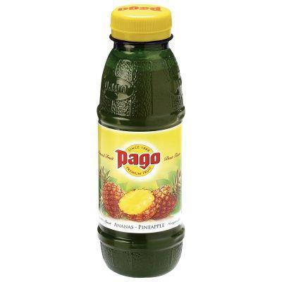 Paquet 12 bouteilles 33cl pago ananas