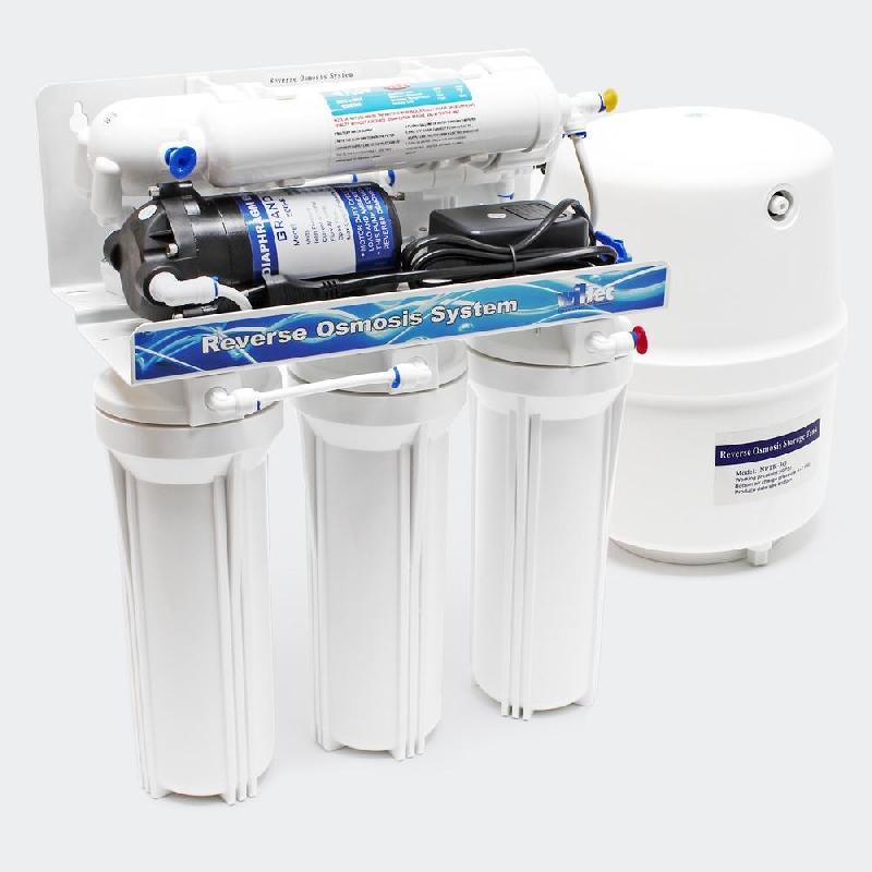 5 étapes osmose inverse ro 180l/jour avec pompe de surpression 2316022