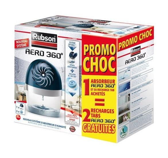 Elegant absorbeur duhumidit m recharges rubson with stop rubson - Rubson re new ...