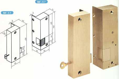 gache electrique et serrures en bronze. Black Bedroom Furniture Sets. Home Design Ideas
