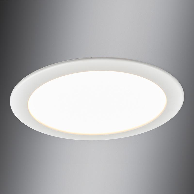 lampe encastrable led edith salle de bains ip44 downlight humide led lampenwelt comparer les. Black Bedroom Furniture Sets. Home Design Ideas