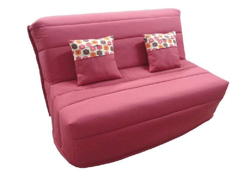 banquette bz convertible axel fuchsia couchage160 200cm matelas confort bultex comparer les prix. Black Bedroom Furniture Sets. Home Design Ideas