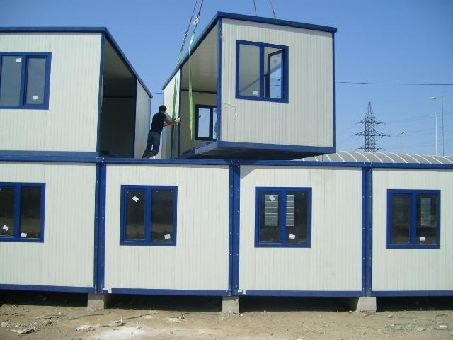 Containers en kit pour bureaux base vie chantier