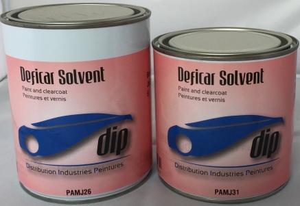 Peinture industrie deficar solvant