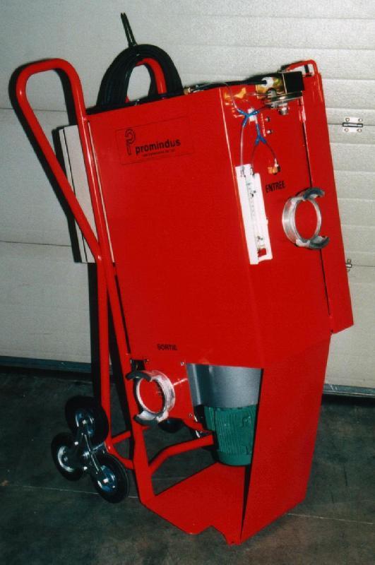 Caisson deprimogene et filtration d'air mobiles type pro 1200