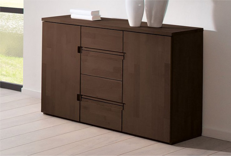 commode design en bois massif shimoe. Black Bedroom Furniture Sets. Home Design Ideas