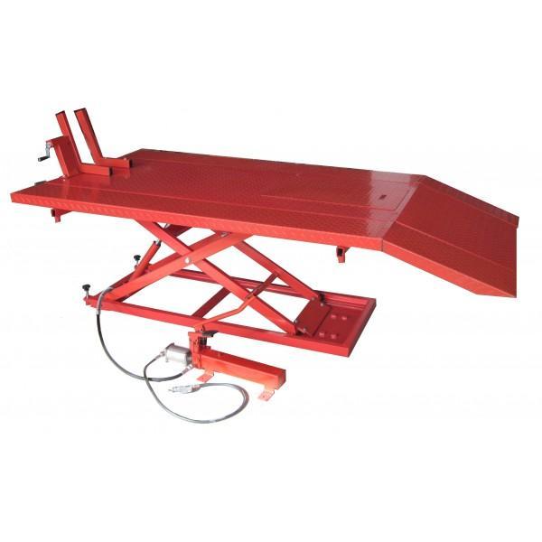 table elevatrice manuelle et pneumatique pour motos quad 700 kg mc04152q j. Black Bedroom Furniture Sets. Home Design Ideas