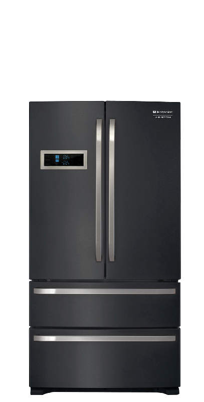 hotpoint ariston refrigerateur combine 91cm fxd825f fxd 825 f noir. Black Bedroom Furniture Sets. Home Design Ideas