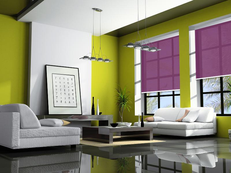 store de couleur vert de gris. Black Bedroom Furniture Sets. Home Design Ideas