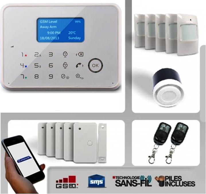 Maison sans fil comment choisir son alarme maison sans for Alarm maison sans fil