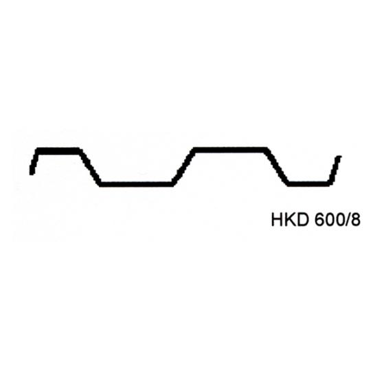 Palfeuille à recouvrement - hkd600/8