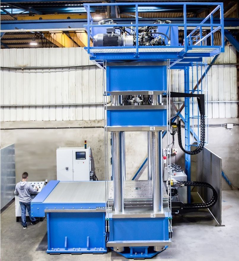 Presse hydraulique hidrogarne serie ml