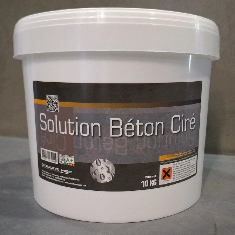 Solution béton ciré - kbc 10