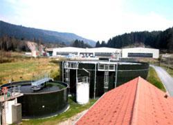Station de traitement des eaux usees  (villes et villages)