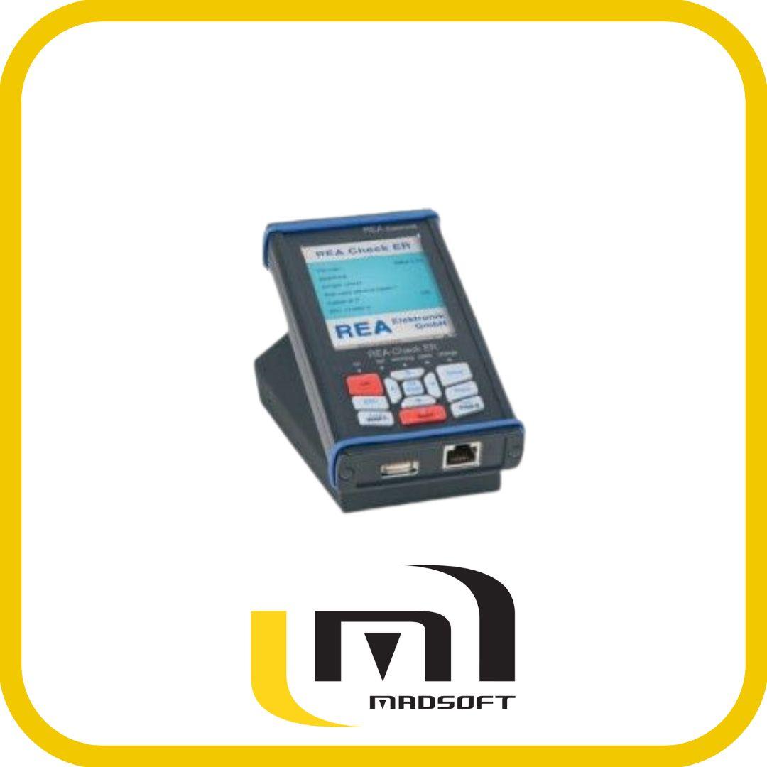Vérificateur de codes à barres 1d portable - rea check er