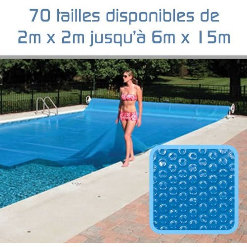 bache piscine 2m x 3m