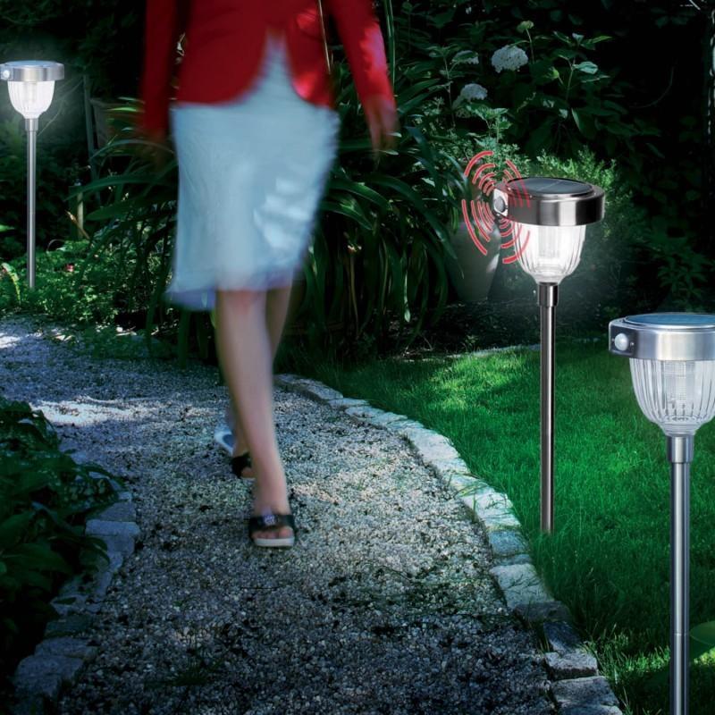 borne solaire d tection de mouvement asinara comparer les prix de borne solaire d tection de. Black Bedroom Furniture Sets. Home Design Ideas