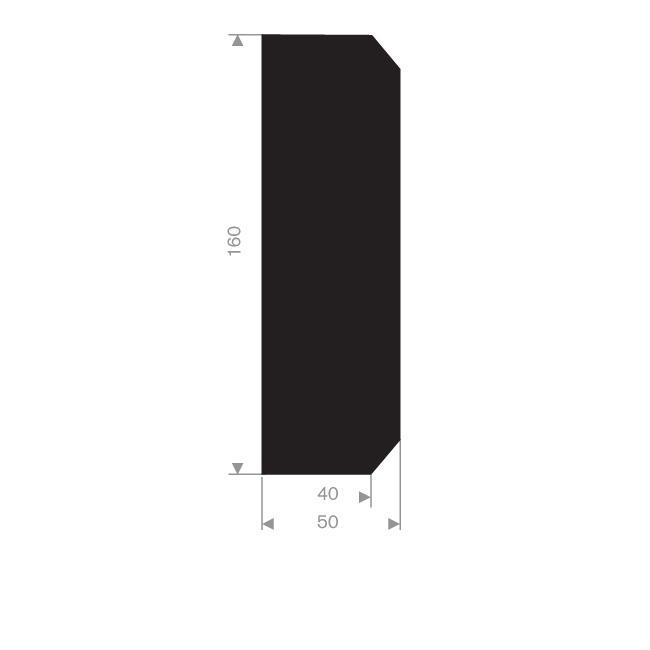 DÉFENSE DE QUAI 50 - 160 MM
