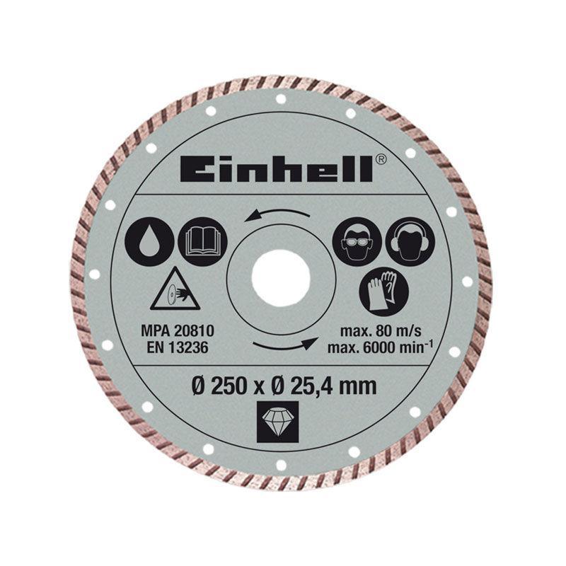 EINHELL DIA.-TRENNSCH. 250X25,4MM TUR. 4301177 1 PC(S)