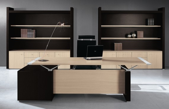 Bureau de direction serie abc for Bureau 2 metres