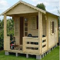 chalets en bois tous les fournisseurs bungalow bois ermitage. Black Bedroom Furniture Sets. Home Design Ideas
