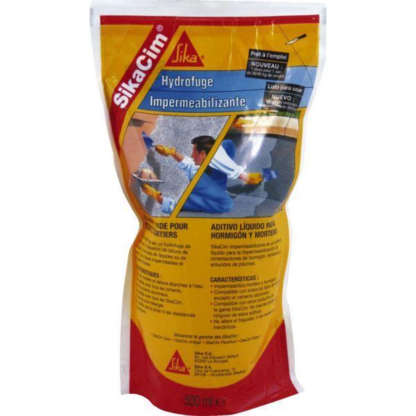 Mastic silicone sika achat vente de mastic silicone for Hydrofuge sika liquide