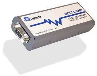 Tbyt9268 - module d'isolation opto electrique rs232 115kbps db9