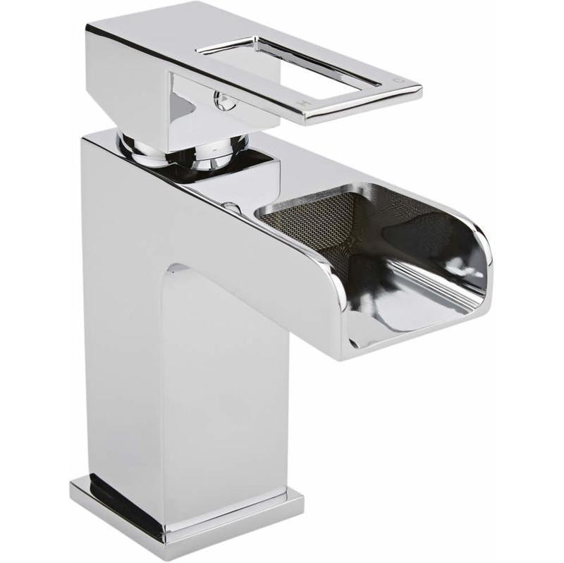 mitigeur lavabo monotrou cascade hudson reed comparer les prix de mitigeur lavabo monotrou. Black Bedroom Furniture Sets. Home Design Ideas