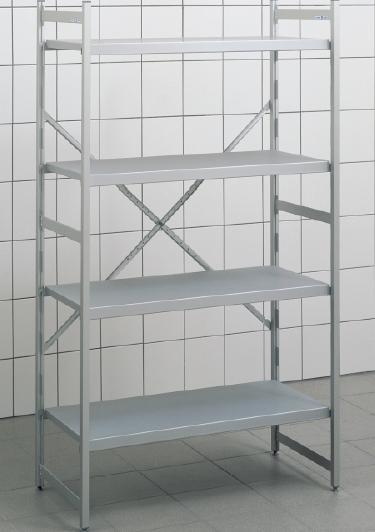 Rayonnage alimentaire norme 20 hupfer for Rayonnage chambre froide