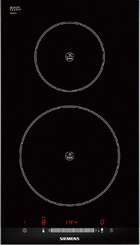 siemens domino induction eh375me11e eh 375 me 11 e noir. Black Bedroom Furniture Sets. Home Design Ideas