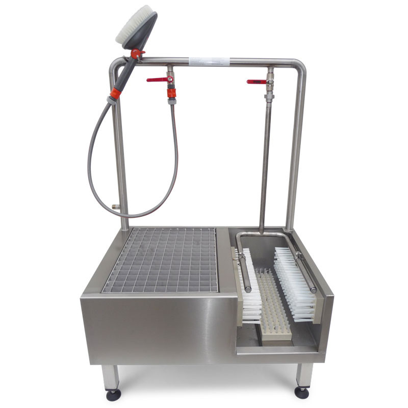 Lave-botte acier inox pro
