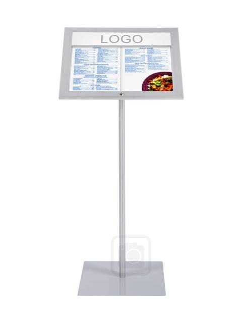 Porte menus tous les fournisseurs porte menu mural for Porte menu restaurant exterieur