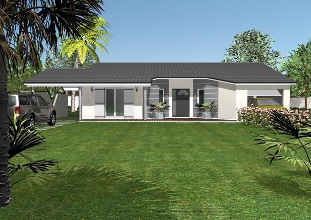 Habitations completes modele de plain pied oxalis for Prix m2 construction maison neuve rt 2012