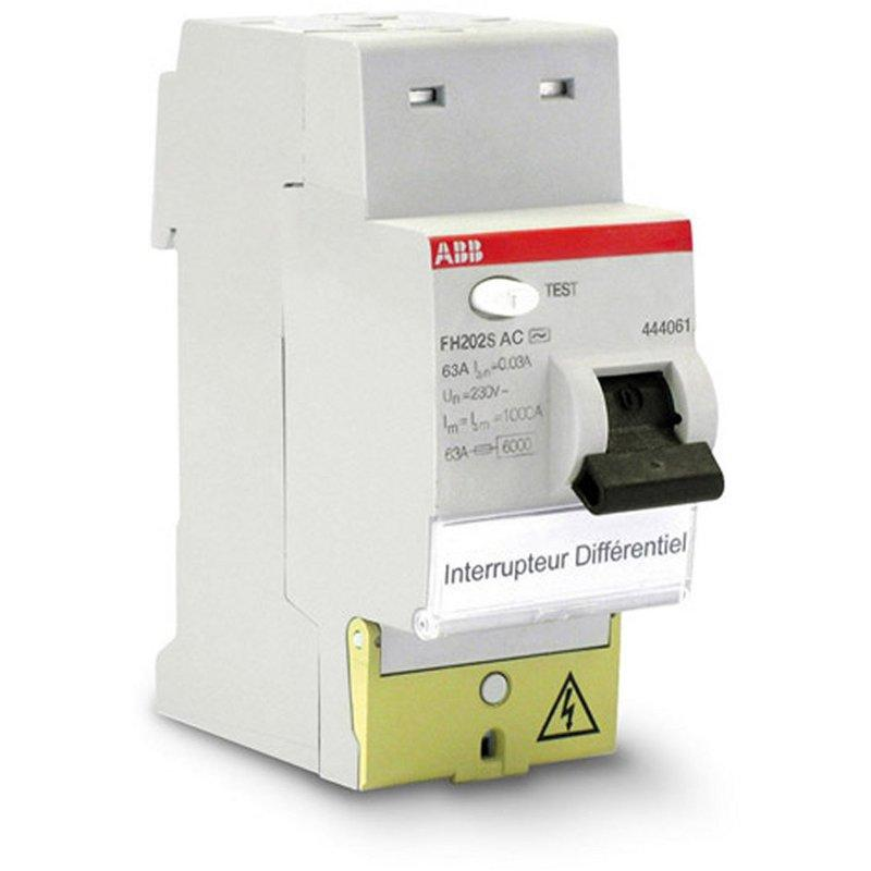 Interrupteurs diff rentiels abb achat vente de - Differentiel type a ou ac ...