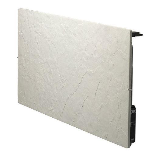 radiateur inertie 1500w touch silicium ardoise blanche. Black Bedroom Furniture Sets. Home Design Ideas