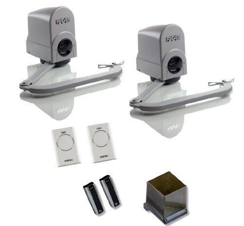 motorisation portail battant faac energy kit 24v integral. Black Bedroom Furniture Sets. Home Design Ideas