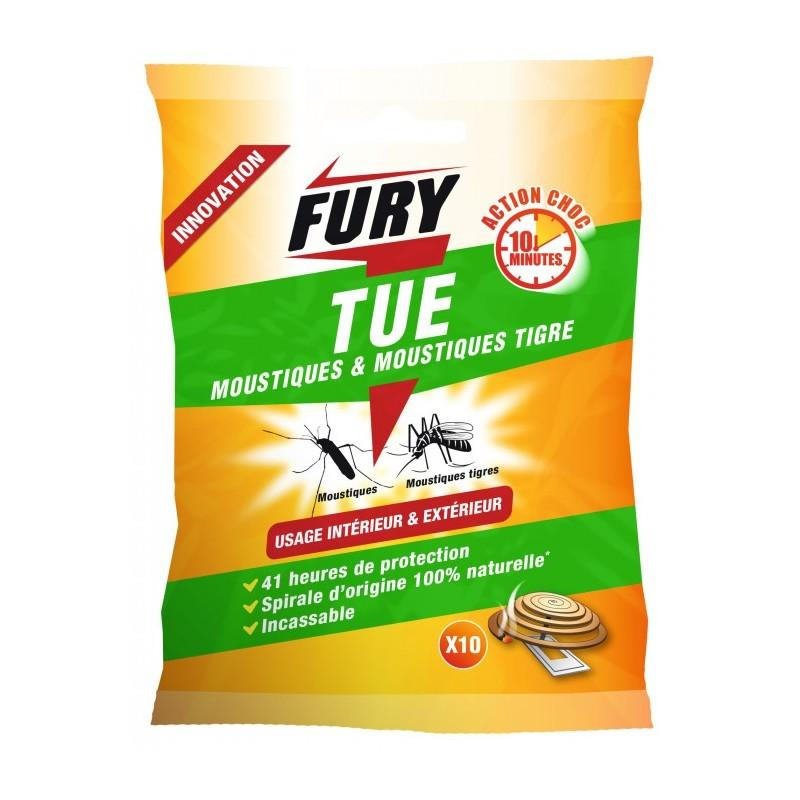 FURY SPIRALE MOUSTIQUE INT/EXT X10