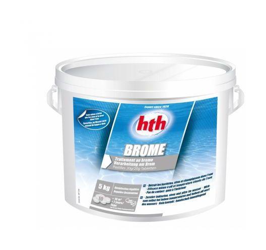 Traitements d 39 eau pour piscine hth achat vente de for Brome piscine