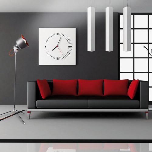 Lampadaire vintage gris urbain (2 coloris)