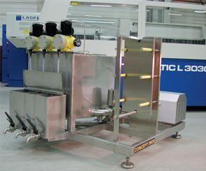 Machine de nettoyage en place - skid - fixe ou mobile