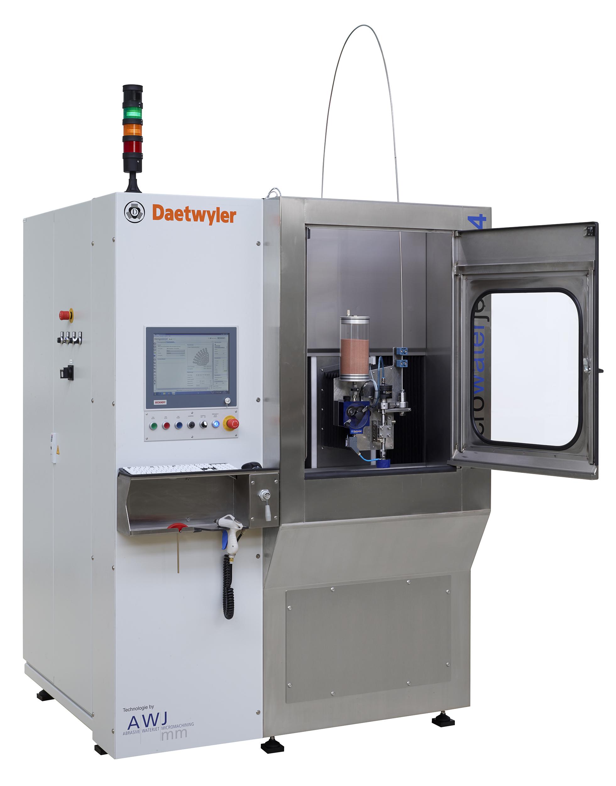 Machine micro-découpe jet d'eau microwaterjet c4