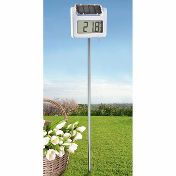 Thermometre geant solaire for Thermometre exterieur geant