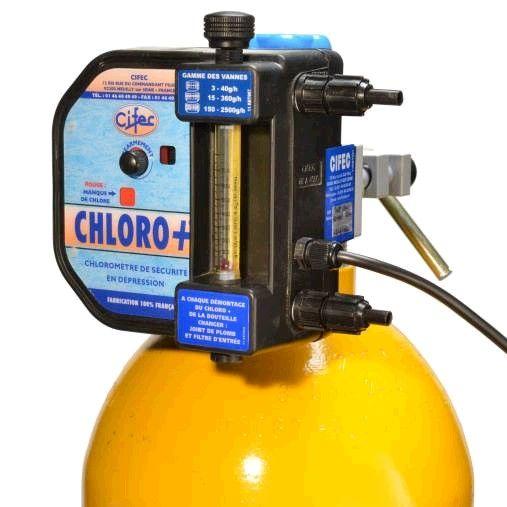 Chloromètre de sécurité chloro