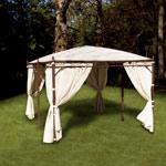 option rideaux beige pour tonnelle 4 pentes 3x4 vision tonnelles de jardin. Black Bedroom Furniture Sets. Home Design Ideas